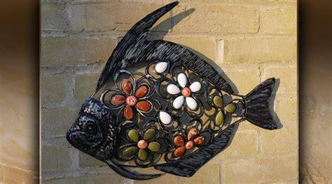 poisson d 233 co murale en fer forg 233