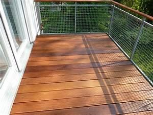 Balkon Grüner Belag : balkon mit belag aus bangkirai sinzheim bei baden baden bilder ~ Markanthonyermac.com Haus und Dekorationen