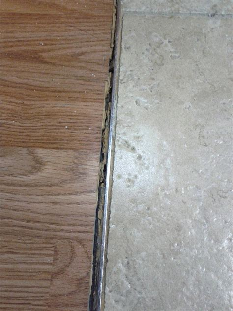 what should i use to transition from tiles to wood