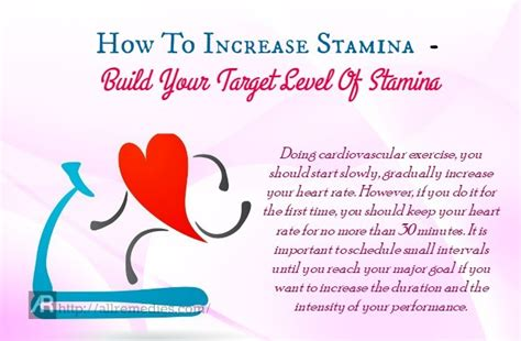 How To Increase Stamina And Endurance Fast