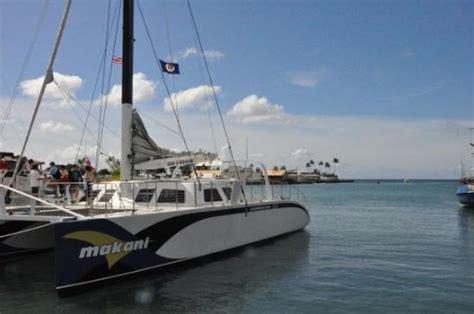 Makani Catamaran Sail Hawaii by Makani Catamaran Sail Identifier Picture Of Honolulu