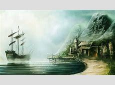 Pirate Island by draken4o on DeviantArt