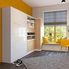 Jugendzimmer Mit Klappbett : schrankbett 120 x 200 cm g nstig kaufen bs moebel ~ Markanthonyermac.com Haus und Dekorationen