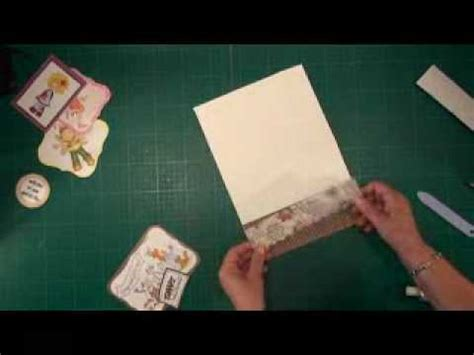 Easel Card Tutorial (cardmakingmagiccom) Youtube