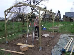 comment fabriquer une serre plan de maison