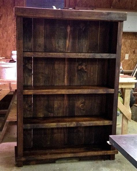 Best 20+ Rustic Bookshelf Ideas On Pinterest