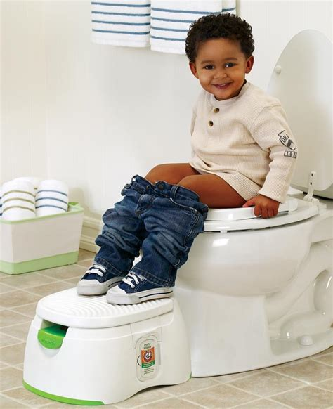 The Potty Seat by Arm Hammer 3 In 1 Potty Seat White