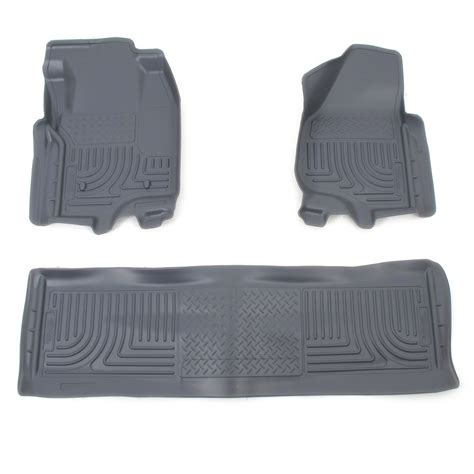 floor mats for 2012 ford f 250 and f 350 duty husky liners hl98712