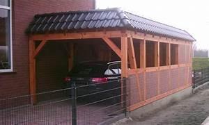 Holzgarage Mit Carport : fertiggarage mit carport fertiggarage mit carport anbau garagen carport kombination als ~ Markanthonyermac.com Haus und Dekorationen