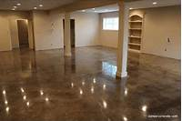how to stain concrete floors How to Make Cement Floors More Appealing DIY Projects ...