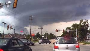 Tornado Warning - Storm Building on Dash Cam - West ...