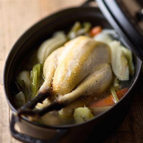poule au pot recette sur cuisine actuelle