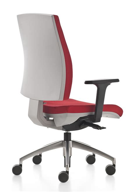 swivel office chair with adjustable lumbar support idfdesign