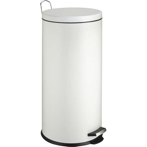 poubelle de cuisine 224 p 233 dale frandis m 233 tal blanc 30 l leroy merlin