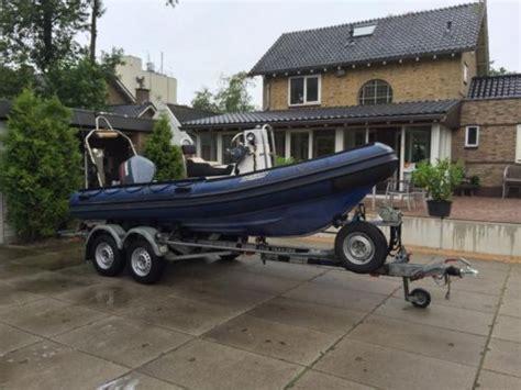 Motorboot Met Trailer Te Koop by Duarry Ex Politie Boot Klpd Yamaha V4 115pk Met Trailer