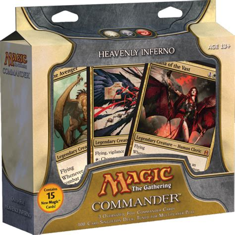 heavenly inferno deck list commander edh decks articles and staple cards