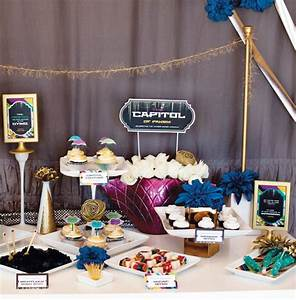 """Hunger Games Party: """"Capitol Inspired"""" Dessert Table ..."""