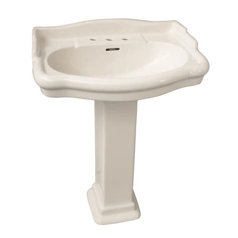 barclay stanford 600 pedestal sink 8 quot widespread at menards 174