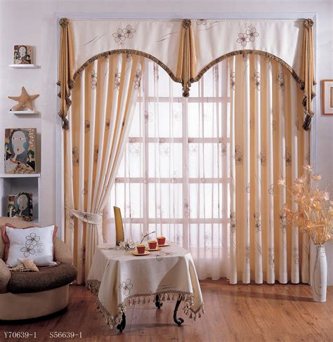 curtain valances for living room window treatments