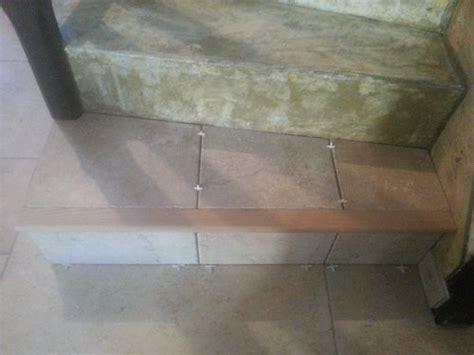 poser un carrelage sur un escalier en b 233 ton partie 1 2 reussir ses travaux