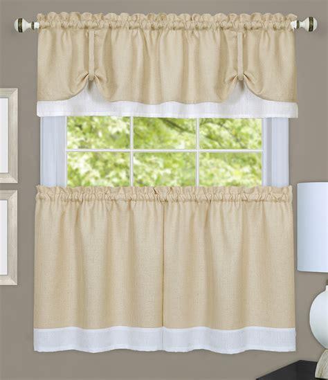 Darcy Kitchen Curtains  Navywhite  Country Kitchen Curtains