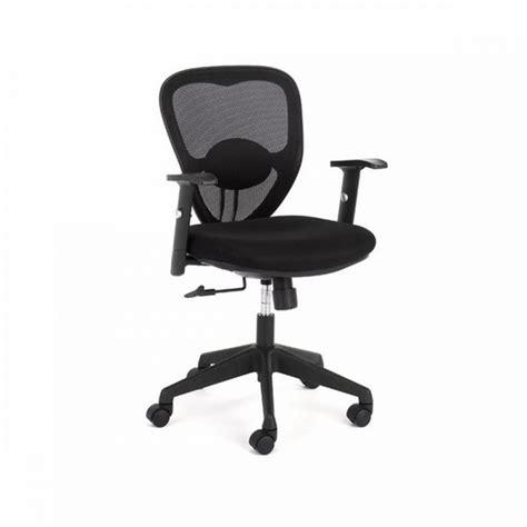 black desk and chair whitevan