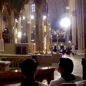 Behind the Scenes at NYC's St. Patrick's Cathedral for ...