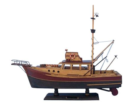 Toy Jaws Boat by Buy Wooden Jaws Orca Model Boat 20 Inch Models Ships
