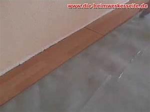 Laminat Verlegen Lichteinfall : laminat verlegen teil 1 youtube ~ Markanthonyermac.com Haus und Dekorationen