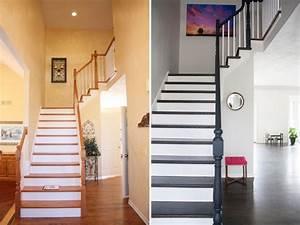 Treppen Streichen Ideen : treppenhaus renovieren 63 ideen zum neuen streichen ~ Markanthonyermac.com Haus und Dekorationen