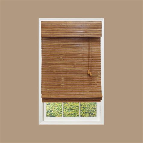 home decorators collection honey bamboo weave bamboo