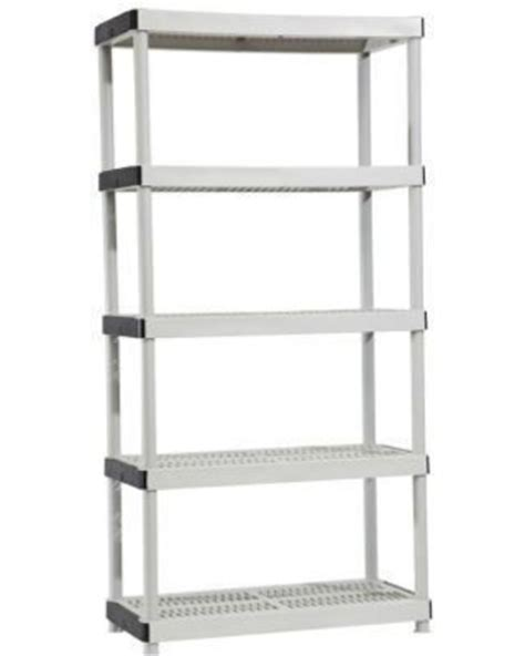 here s a great deal on free standing cabinets racks shelves hdx garage shelving 5 shelf 36