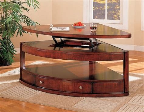 Coaster Pie Shaped Lift Top Occasional Sectional Coffee Hooker Furniture Reviews Deck Sale Home Stretch Sofa Ashley Stores Missoula Outlets North Carolina Tv Lift Lafayette