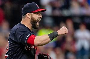 Cleveland Indians player Jason Kipnis celebrates home run ...