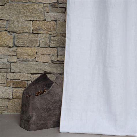 rideau en lav 233 blanc bourdon naturel maison d 233 t 233