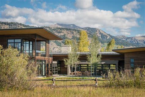 maison en bois contemporaine en montagne aux etats unis construire tendance