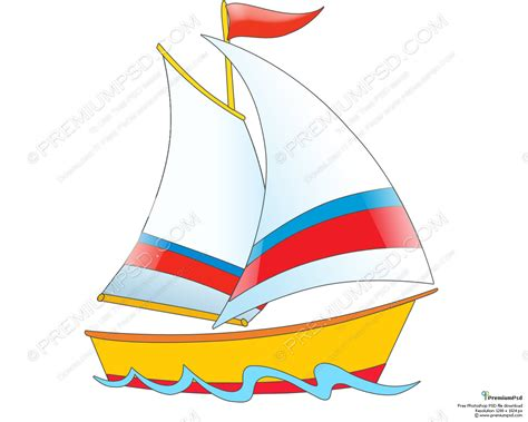 Sailboats Cartoon by Drawn Yacht Animated Pencil And In Color Drawn Yacht
