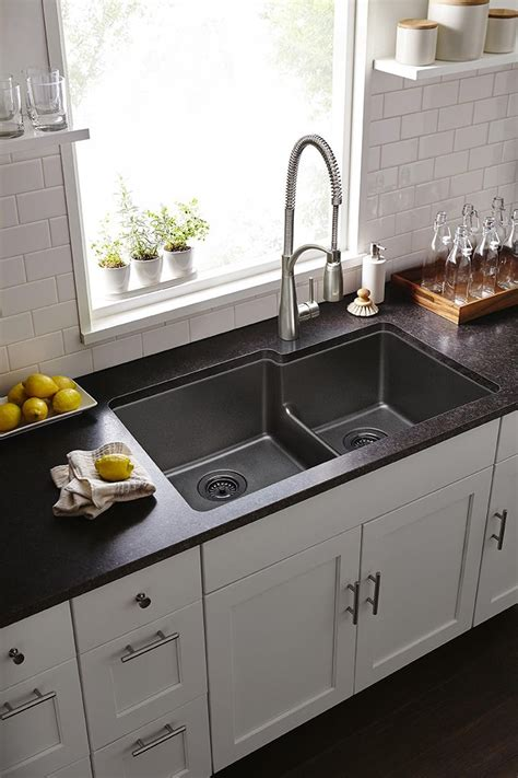 Gourmet Quartz Classic™ Double Bowl Undermount Sink