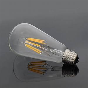 Dimmbare Led E27 : e27 e14 sockel dimmbare led cob retro filament gl hbirne birne fadenlampe lampe ebay ~ Markanthonyermac.com Haus und Dekorationen