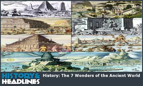 history the 7 wonders of the ancient world history and headlines
