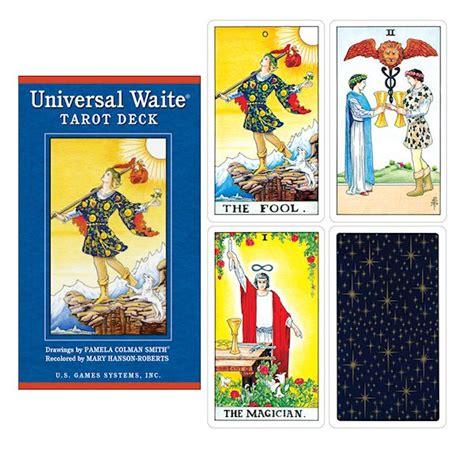 universal waite tarot deck the magickal cat pagan
