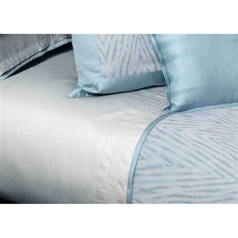 drap housse en coton bleu gris blue mood par home concept