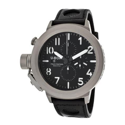 U Boat U 28 Watch by U Boat Men S Flightdeck 7750 50 Titanium Watches