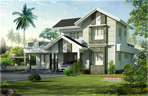 Nice Exterior House Designs  Magnificent Nice House