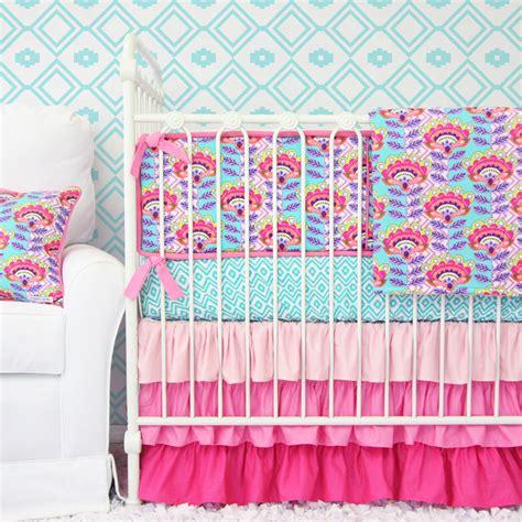 avery s aztec crib bedding set by caden rosenberryrooms
