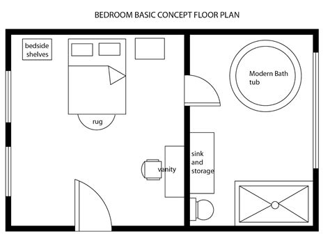 Modern Bedroom Basic Floor Plan Clear Plastic Shower Curtain Blue Hooks Spode Christmas Tree Walmart Curtains Bent Rod How Much Are Ed Hardy 84 Extra Long