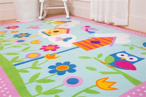 Kids Area Rug Flower  New Kids Furniture  Beautiful And
