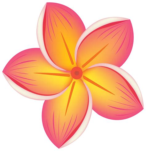 Free Tropical Flowers Cliparts, Download Free Clip Art