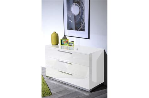 meuble commode laqu 233 blanc design trendymobilier