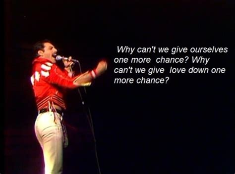 Freddie Mercury, Life, Love, Queen, Text, Underpressure
